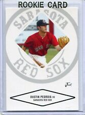 2004 Just Minors Baseball Card Dustin Pedroia ROOKIE Boston Red Sox NR MT # 60
