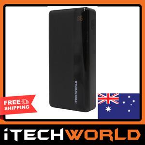 iTechworld 20000mAh 18W PD QC 3.0 Power Bank 3 Output USB Portable Fast Phone