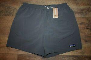 "Patagonia Men's Baggies Shorts - 5"" Inseam 57021 Size XXL (Forge Grey) NWT"