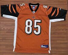 Cincinnati Bengals CHAD JOHNSON 85 REEBOK OFFICIAL REEBOK NFL FOOTBALL JERSEY XL
