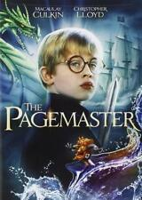 The Pagemaster (1994) Macaulay Culkin | Christopher Lloyd | New | Sealed | DVD