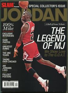 Michael Jordan - 2009 SLAM Special Collector's Issue Hall of Fame Tribute Black