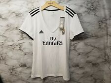 Adidas REAL MADRID HOME Soccer JERSEY CG0545 2018/19  WOMEN'S XL NEW 90$ Tag