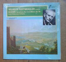 Wilhelm Furtwängler Conducts Brahms*, Berlin Philharmonic Orchestra* 1973 NM NM