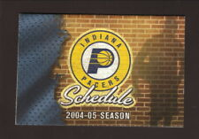 Indiana Pacers--2004-05 Pocket Schedule--ATA Airlines
