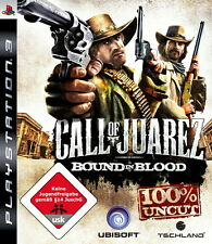 Call of Juarez: Bound in Blood  (Sony PlayStation 3, 2009) PS3 Spiel Spiele