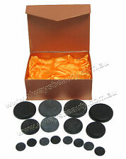 HOT STONE MASSAGE KIT Basalt Stones FOR SPA HOT MASSAGE TREATMENT new
