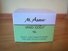 M. ASAM VINO GOLD DAY AND NIGHT CREAM 3.38 FL. OZ.