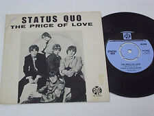 "STATUS QUO The Price of Love -1969 PORTUGAL 7"" single UNIQUE PICTURE SLEEVE rare"