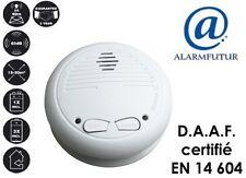 Détecteur de fumée interconnectable sans fil normalisé: CE et EN14604  Neuf !