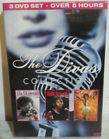 3 DVD DIVA'S COLLECTION - FITZGERALD - SIMONE - BASSEY - NUOVO NEW