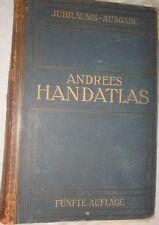 Andrees Handatlas von 1906  . Auflage,   Haupt-und   Nebenkarten, 1906