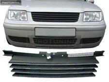 VW BORA 98-05 Front Black ABS Badgeless Debadged Grill Gitter JETTA grille Hood