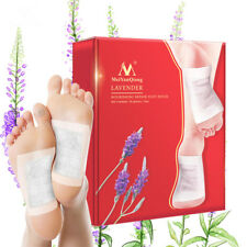 10Pcs Lavender Detox Foot Patches Nourishing Repair Feet Patch Pads Candy