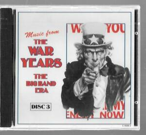 Madacy Musique Music From The War Years The Big Band Era Disque 3, Neuf CD