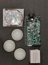 DMP XR500N ALARM ACCESS CONTROL BOARD ,3 DMP motion detectors & Transformer 16 v