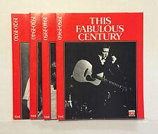 4 THIS FABULOUS CENTURY Time Life Books 1988 Magazines • 1st Printing 1920-1960