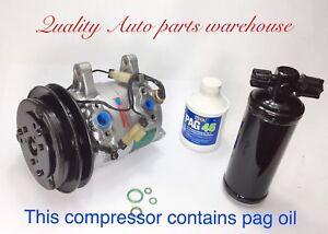 Reman. AC Compressor for 1986-1995 Nissan Pickup 3.0L (6 Cylinder) W/Warranty