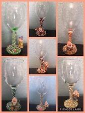 DISNEY Figura bicchieri da vino, i 7 NANI XX MOSTRA Bianco XX Set di 7, CUCCIOLO BRONTOLO