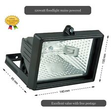 120W Floodlight Security Light Garden work light Free Delivery Excellent Value