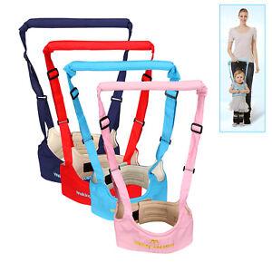 Baby Safe Walking Learning Walker Helper Belt Toddler Harness For 8~20 Months