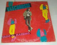 VASCO ROSSI VADO AL MASSIMO LP VINILE 33 GIRI 1982 CAROSELLO ORIZZONTE