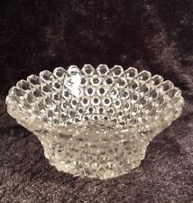 Vintage Beautiful Glass Square Tooth Saw Tooth Edge Candy Dish Glass Dish
