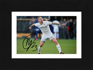 8X6 Mount KALVIN PHILLIPS Signed Autograph PHOTO Ready To Frame LEEDS UNITED