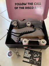 Moonlight Moon Boots Mirrorball Roller Skates Size 9 Comes With Box & Skate Tool