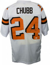 564b4f77b65 Nick Chubb Signed Browns #24 Jersey (JSA COA) Cleveland's 2nd Rd Draft pick