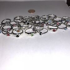 Rings For Girls - Birthstones, Mood Rings & More! Lot of 5 Rings!