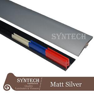 Matt Silver Transition Door Strip 38mm x 0.90mtr Multi-Height and Pivot