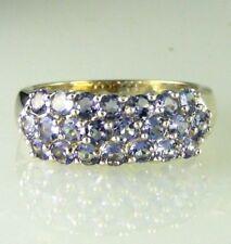 Anelli di lusso naturale in argento sterling matrimonio