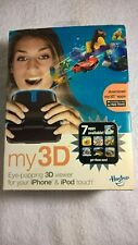 """HASBRO """"MY 3D"""" VIEWER FOR IPHONE AND IPOD TOUCH NEW SEALED COMPLETE - WHITE"""