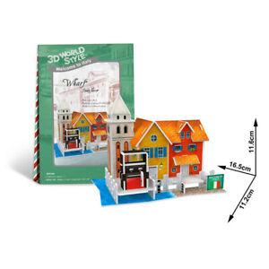 Cubic Fun - 3D Puzzle Wharf Kai Venedig Italien