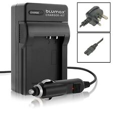 Mains & Car Charger for Canon LP-E5 LPE5 EOS 450D 500D 1000D SLR Camera Battery