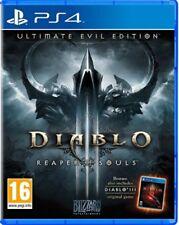 DIABLO 3 III ULTIMATE EVIL EDITION EN CASTELLANO ESPAÑOL NUEVO PRECINTADO PS4