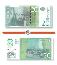 Serbia 20 Dinara 2006 Unc Pn 47a Banknote24