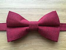 Cravatta a Farfalla | ROSSO METALLIZZATO PAPILLON | Shiny Red | Luccicante Rosso PAPILLON