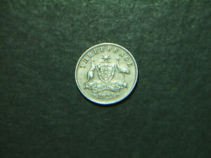 1923 Australian Threepence