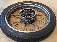 Jawa CZ125 CZ 175 Wheel & Avon MkII Tyre 3.00 x 18