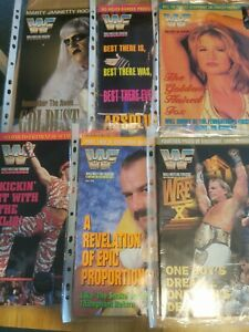 WWF/WWE Magazine 1996 Complete Year