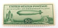 .US STAMP SCOTTS #C18 1933 50c GRAF ZEPPELIN MINT NH, CRISP COLOUR, NICE. #1