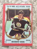 1973-74 OPC O-PEE-CHEE Bobby Orr Boston Bruins 1972-73 NHL All Star East #30 R28