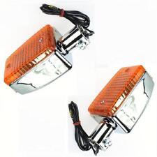 Nuevo 2x cromo intermitentes F. Yamaha XJ 900 31a 58l 4bb xj900 Flasher/Turn indicator