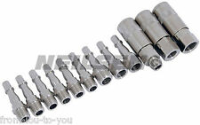 12 Piece Air Quick Connection couplings and Connector Set- Coupler / Bayonet