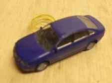 H0 1:87 Rietze Audi A 6 Bleu avec Frontbeleuchtung