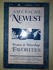 America's Newest Praise & Worship Favorites Choral SATB - Arr. Dave Williamson