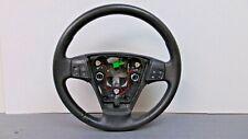 2004 2011 VOLVO S40 BLACK LEATHER STEERING WHEEL W CRUSE CONTROL NICE OEM