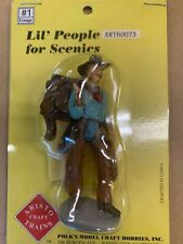 ARISTO-CRAFT G-Scale 60073 Lil' People Cowboy Carrying Saddle  LGB Size NEW